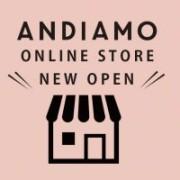 ANDIAMOオンラインストアがオープンしました!
